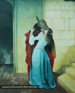copy #bacio di #hayez