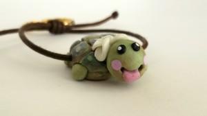 #portachiave #tartaruga #handmade #pastadimais