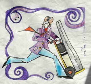 Cover Art by La Bottega di marika - Storia di un Polipo alle corde vocali