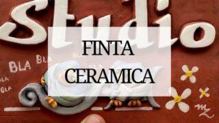 finta ceramica maiolica mattonella in pasta di mais