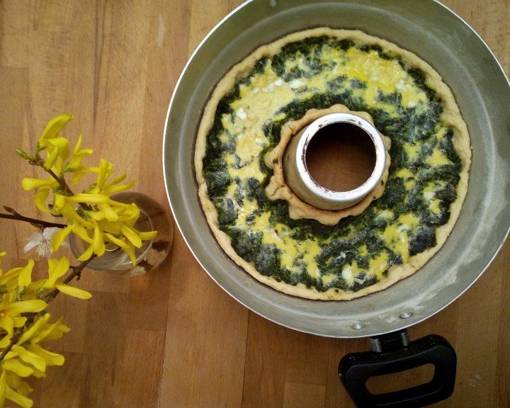 torta salata con spinaci