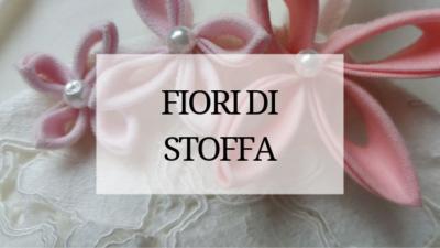 come fare fiori di stoffa abito da sposa tutorial