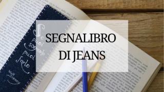 segnalibro personalizzato con citazione di jeans