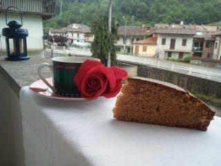 torta al farro e caramello