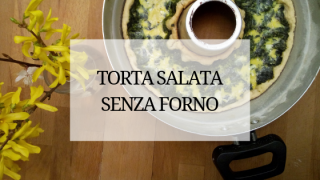 torta salata nel versilia con spinaci e ricotta senza forno