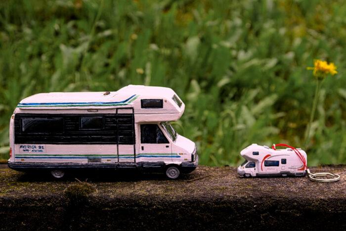 Camper in miniatura modellismo Arca America (13)