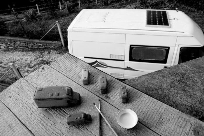 Lavorazione Camper Portachiavi grezzi (1)