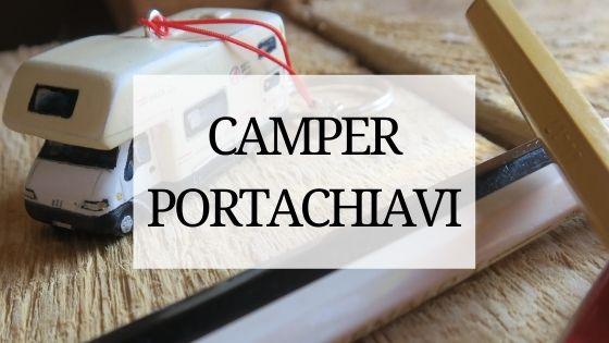 camper Wohnmobil portachiavi modellini personalizzato