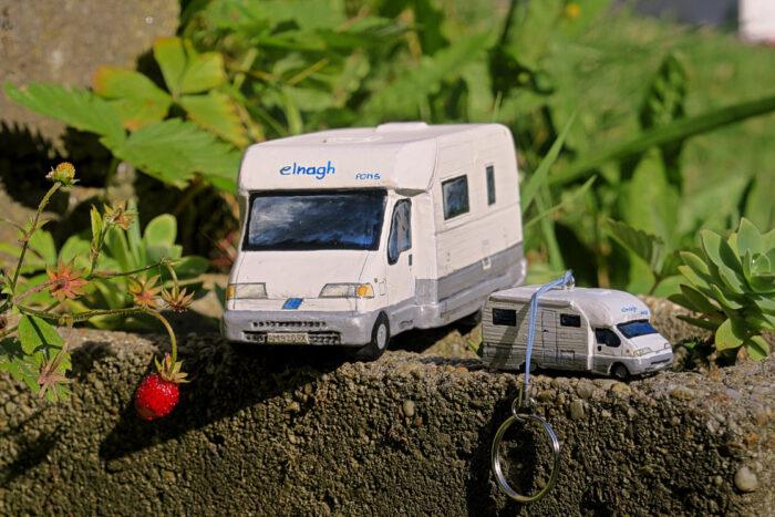 camper portachiavi modellino orecchini labottegadimarikaq (1)