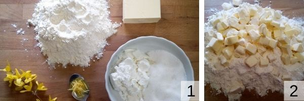preparare la pasta brise