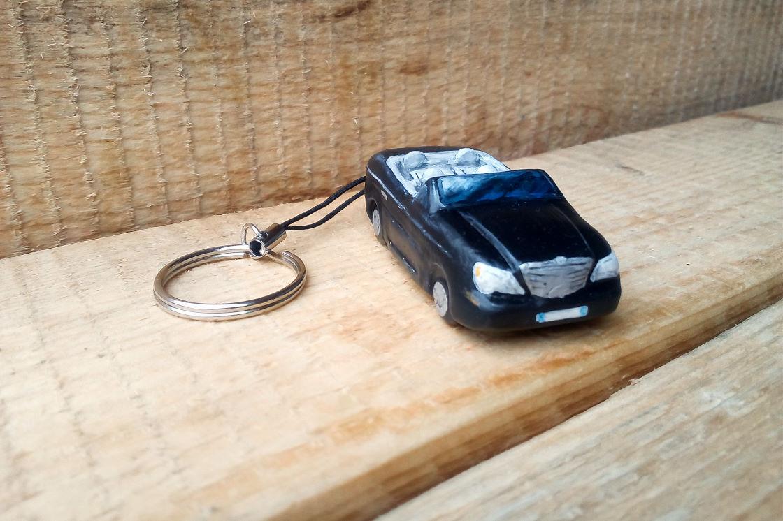 Portachiavi Macchina Chrysler Cabrio - La Bottega di marika (2)