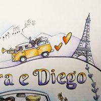 Illustrazione personalizzata coppia viaggio camper (19)