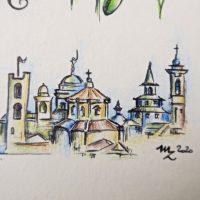 Illustrazione personalizzata coppia viaggio camper (24)
