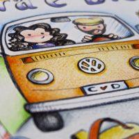 Illustrazione personalizzata coppia viaggio camper (32)