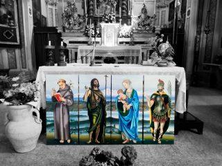 quadri ad olio santi