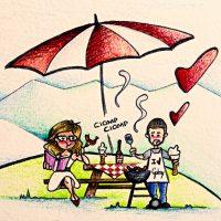 Illustrazioni personalizzate storia d'amore vita di coppia viaggio - labottegadimarika (12)-103