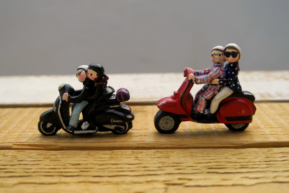miniature moto scooter vespa piaggio collezione labottegadimarika (19)
