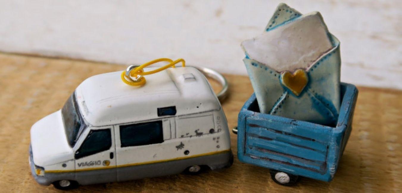 miniature modellini camper