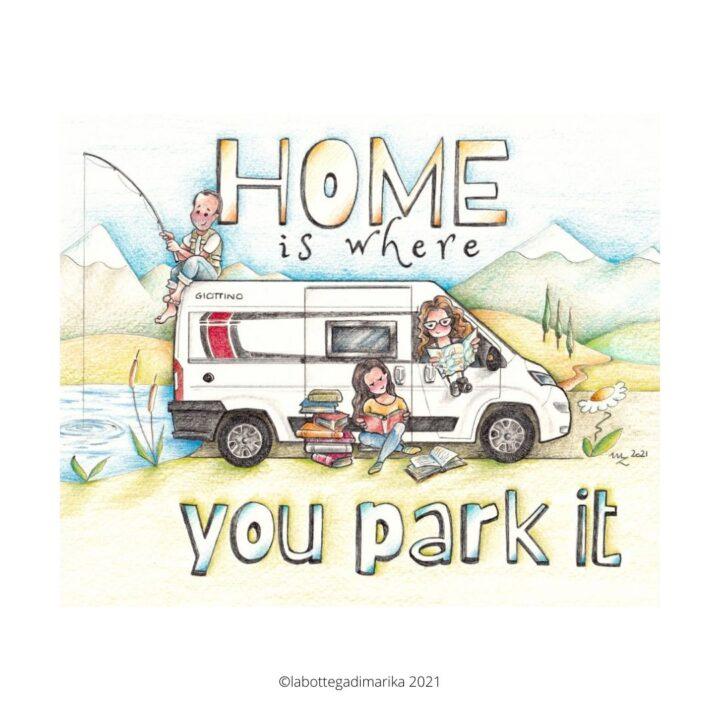 frasi belle sui viaggi camper van