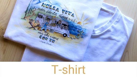 magliette con frasi belle sui viaggi e camper