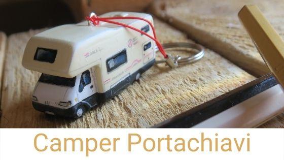 camper portachiavi modellini miniature