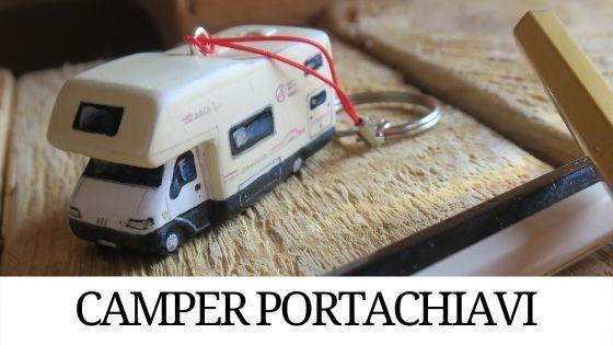 camper portachiavi miniature modellini